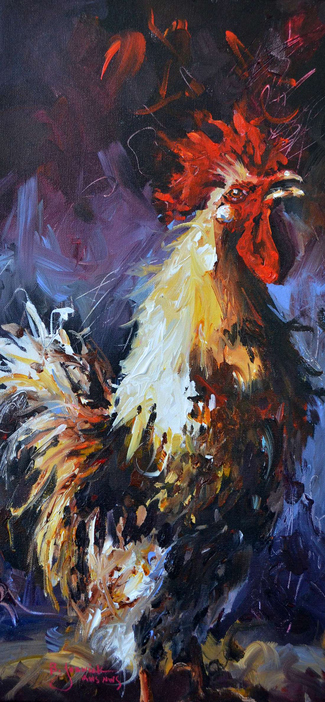 Early Morning Song 12x24 sold