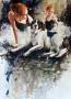 2017 Studio Dog 22x32sm sold