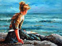Beach (acrylic)