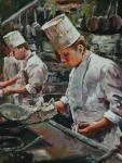 Chefs (acrylic)