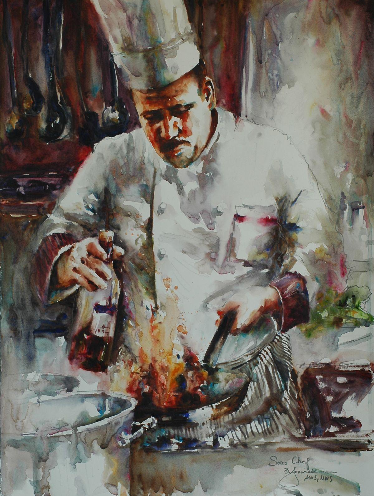 Chefs Bev Jozwiak