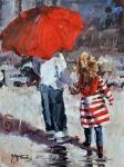 Rain (acrylic)